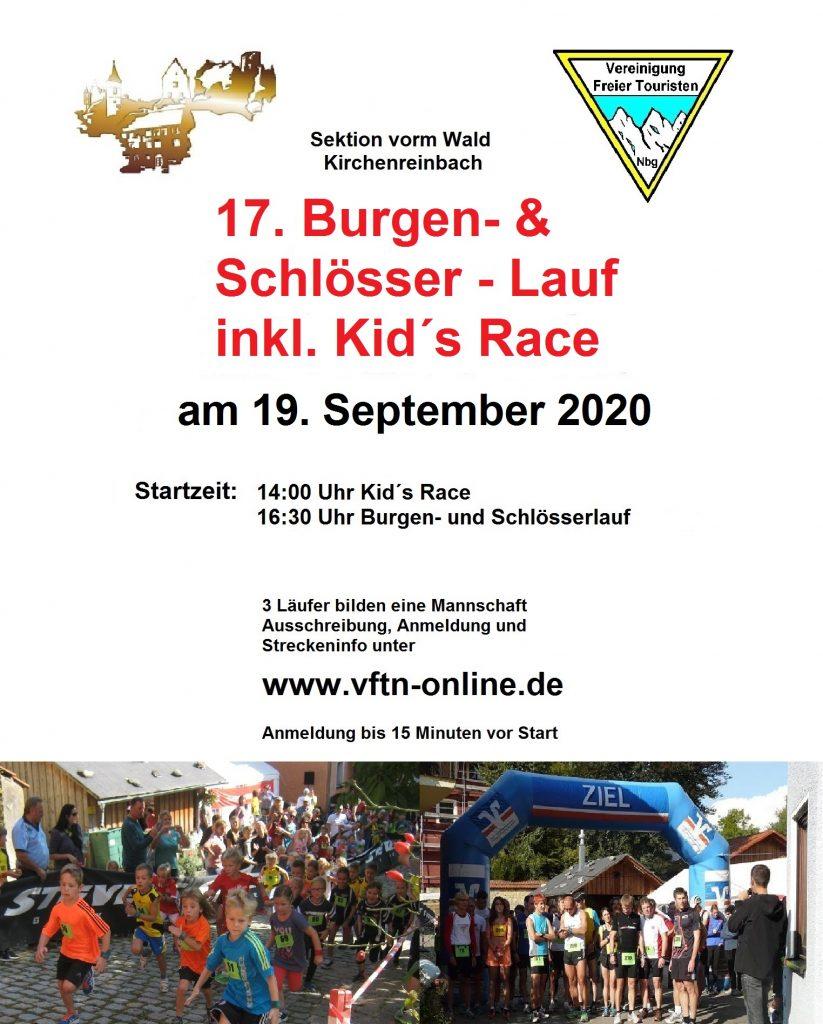 17. Burgen- und Schlösserlauf 2020