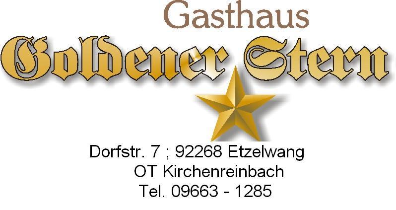 Goldener Stern Kirchenreinbach