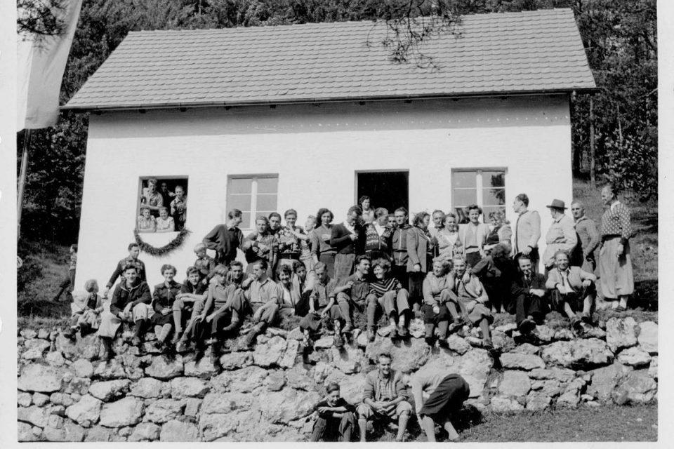 Buchberghaus 1953