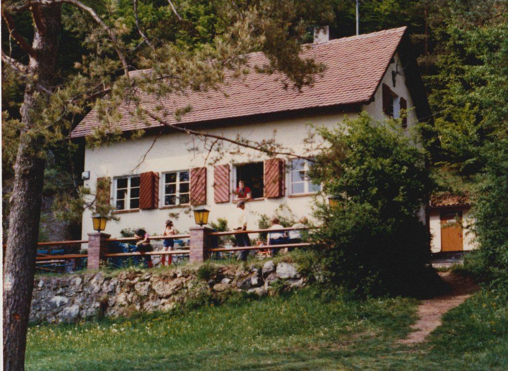 Buchberghaus ca. 1976