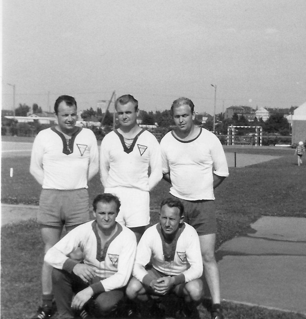 Faustballmannschaft VFTN