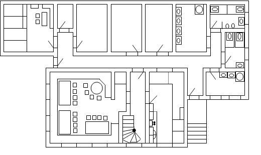 Plan Buchberghaus ( Erdgeschoss)