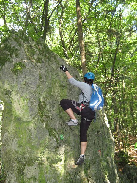 Klettern Norissteig